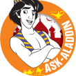 Ask-Aladdin Logo